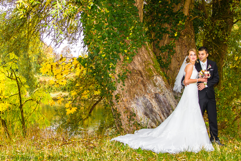 Hochzeitsfotografie an der Donau in Neuburg