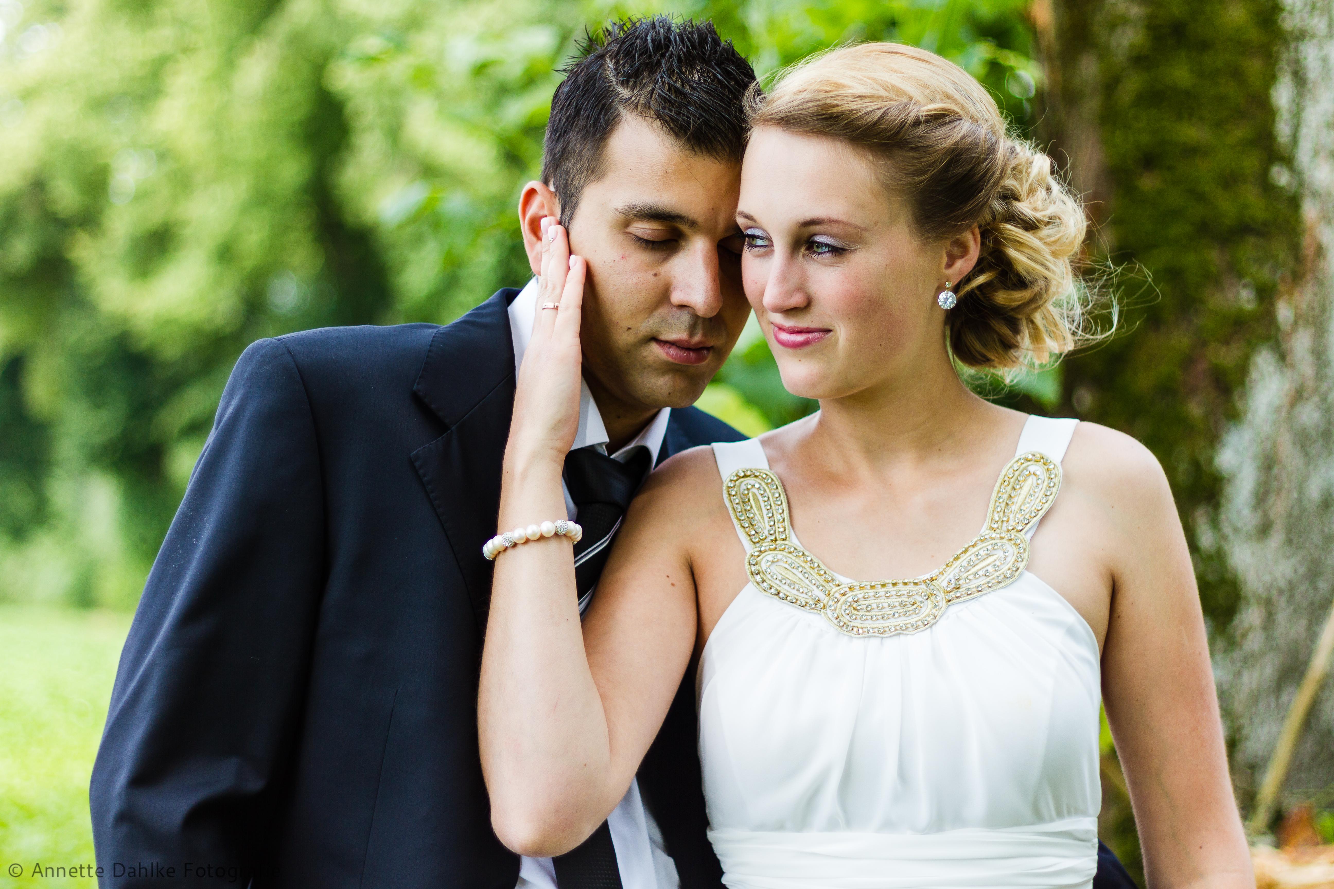 Hochzeitsshooting in der Natur