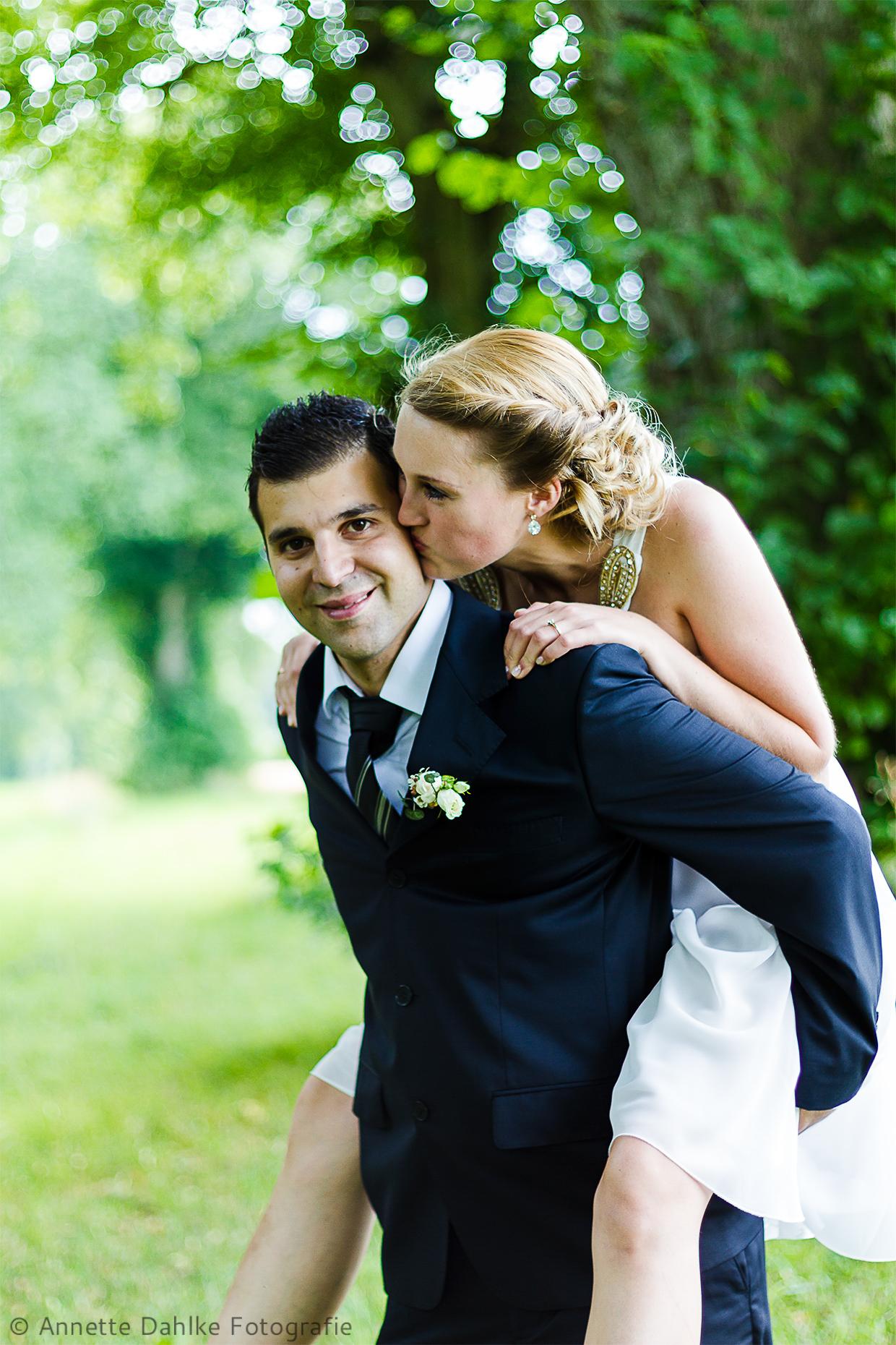 Hochzeitsfotografie in der Natur